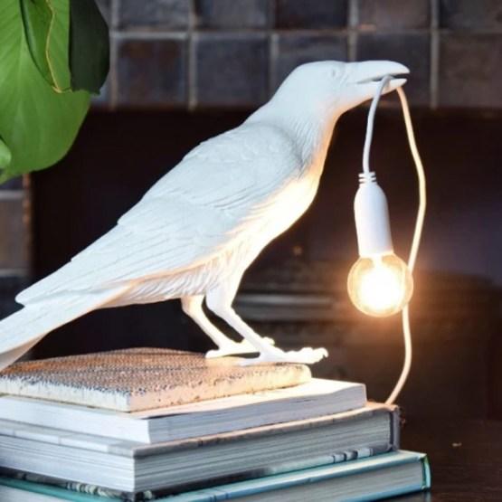 BIRD LAMP WAITING