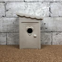 schijtlijster vogelhuis