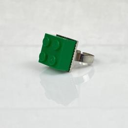 lego ring groen