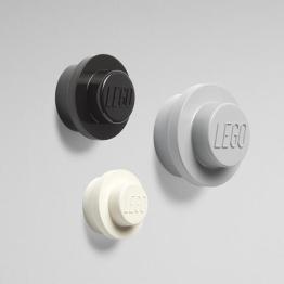 Lego wandhaken grijs