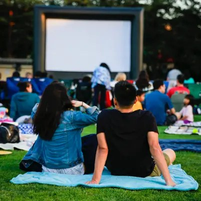 Inflatable Screen Rental for Movies Outside