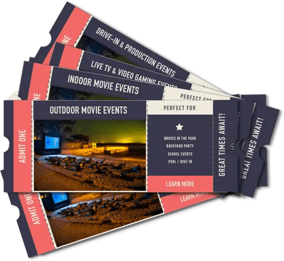 Outdoor Movies Event Tickets