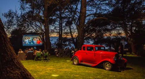 Outdoor Theater Rentals - Drive In!