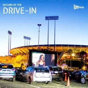 Drive-in at Candlestick Park