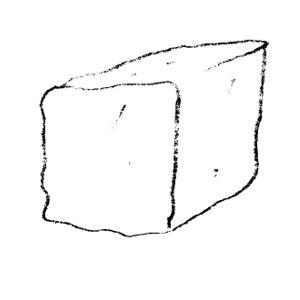 Unifix cube template