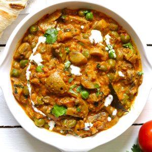 Mushroom Masala Recipe (Instant Pot) - Fun Food Frolic