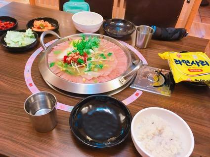 韓国のテグ(大邱)で絶対行きたいおすすめ人気レストラン10選!캔디와 철수의 순정부대찌개(キャンディーワチョルスウィスンジョンプデチゲ)