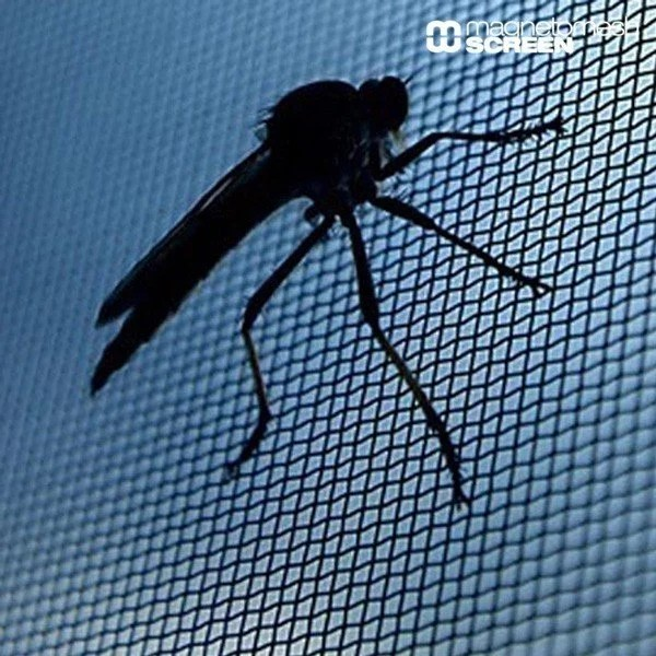 Magnetiskt Myggnät Till Fönster