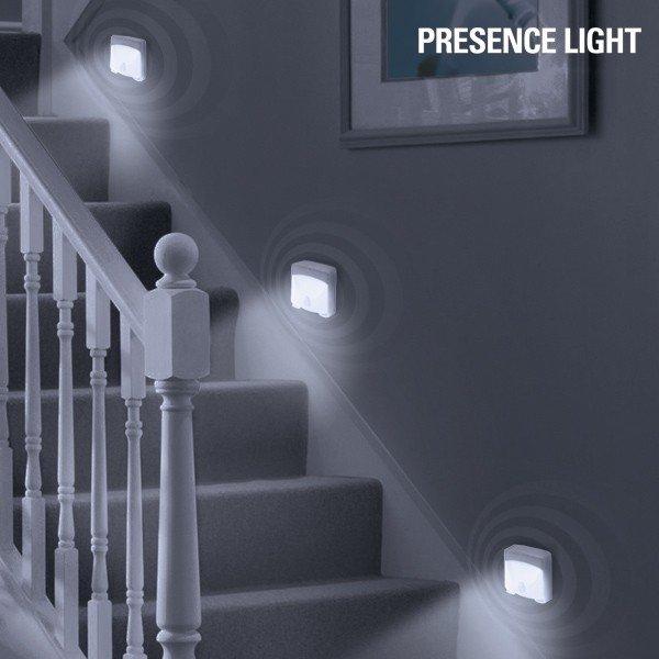 LED Lampa Med Sensor