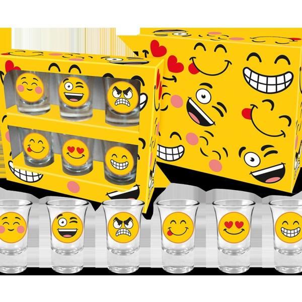 Emoji Shotglas
