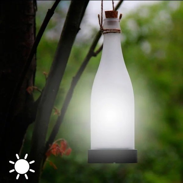 Solcellslampa Flaska