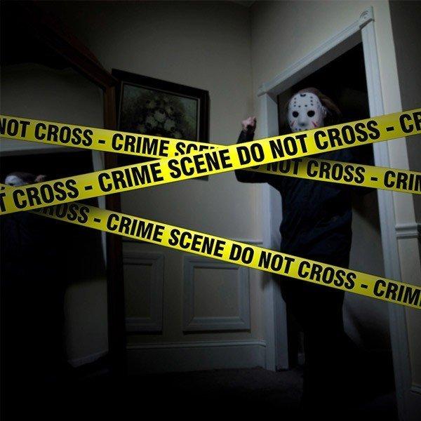 Tejp Till Brottsplats