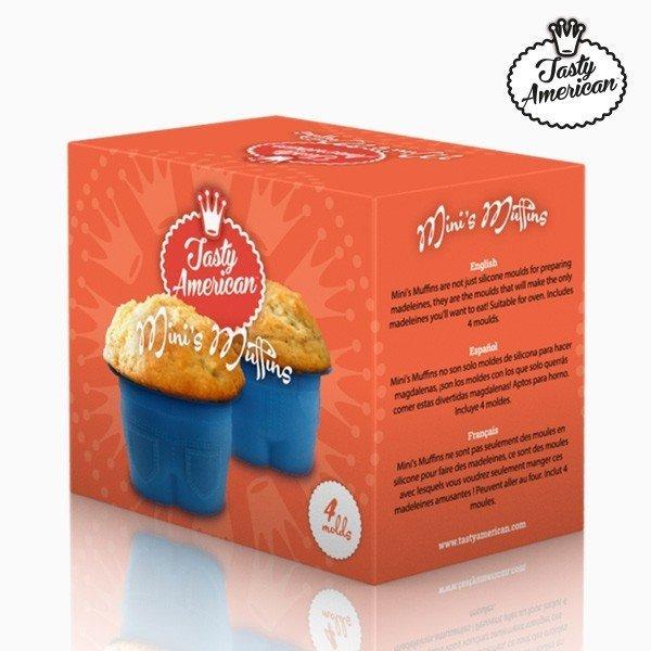 Silikonform Muffins Byxor