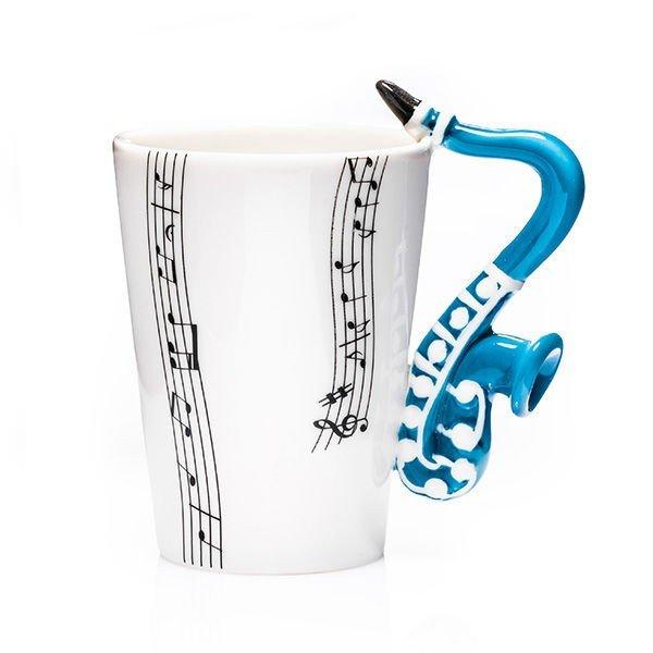 Musik Mugg Saxofon