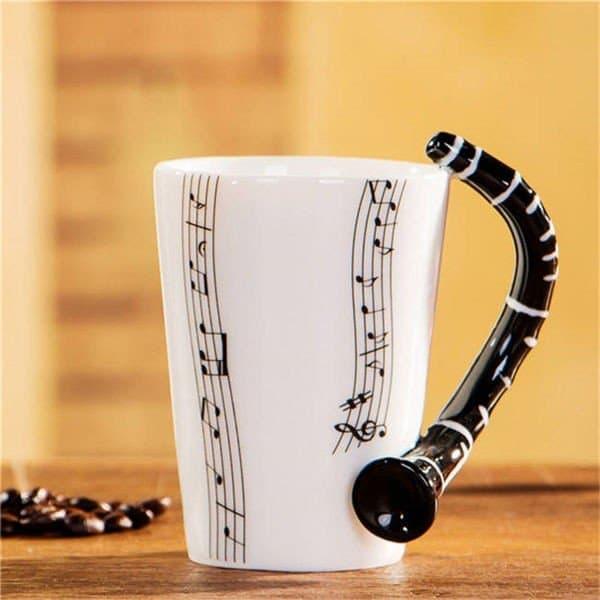 Musik Mugg Klarinett