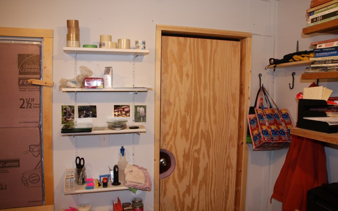 Lab shelves
