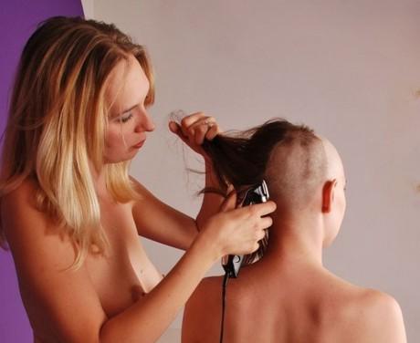 FUN HAIR CUT  more  PHOTOS  Buzzcut and Headshave  erotic buzzcut
