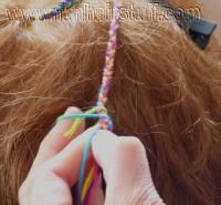 hair plaited with thread hair plaited with thread hair ...