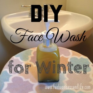 These simple ingredients make a refreshing face wash to keep your skin moisturized, clear and glowing for winter.