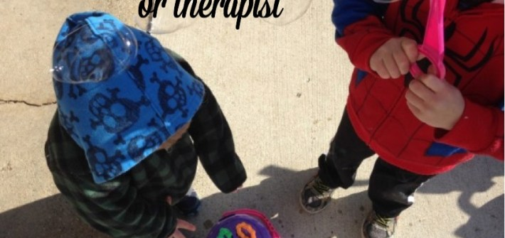How I balance being a special needs mom and a pediatric occupational therapist. #therapythursday