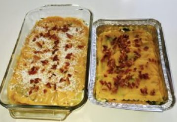 Creamy Butternut Squash Lasagna can be made dairy free for a great make ahead meal for your family.