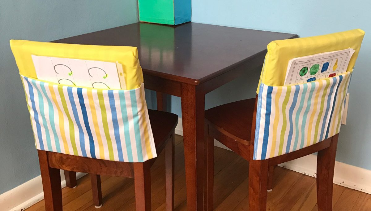 DIY Pocket Chair Cover