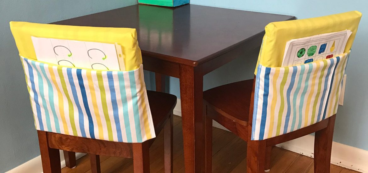 Diy Pocket Chair Cover Fun Happiness Life