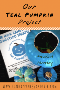Teal Pumpkin Project is great way to include everyone in trick or treating. Join this initiative to include children who are not able to eat or have food allergies.