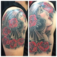 American Traditional Tattoo Black And Grey   www.pixshark ...