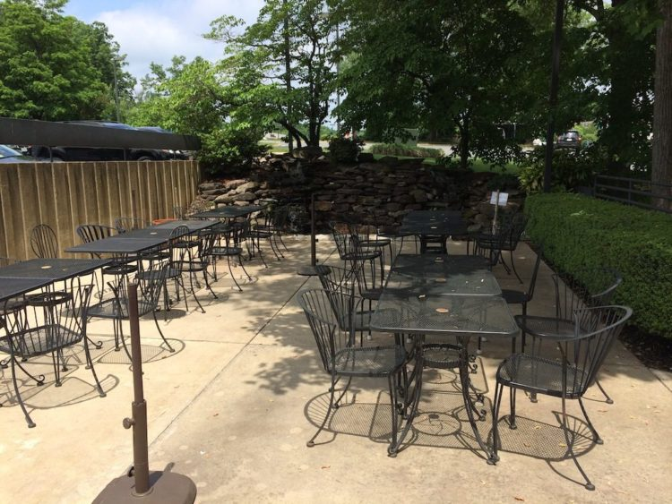 Ariake Reston patio