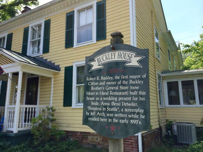 Buckley House, Clifton Virginia