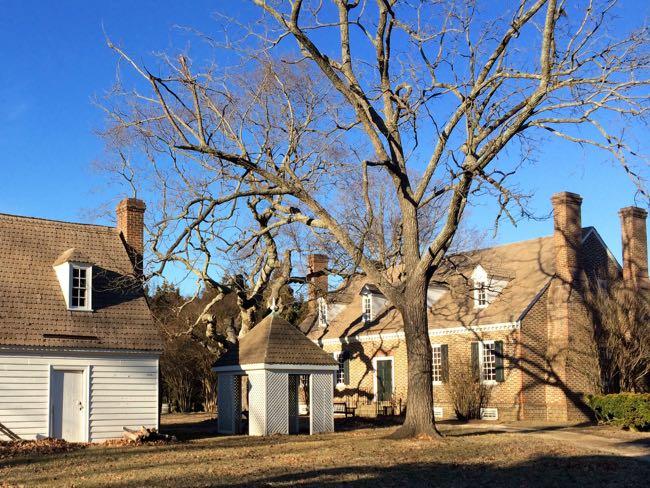 Washington Birthplace buildings