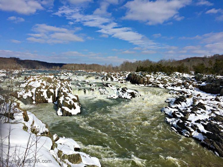 Great Falls of the Potomac Postcard FuninFairfaxVA