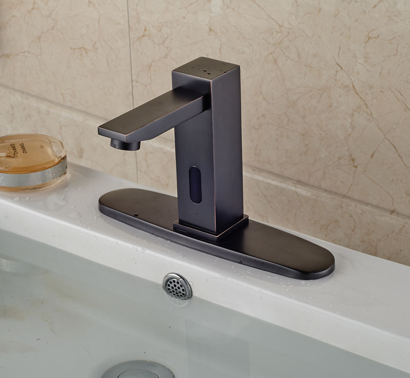 Celilo Touchless Oil Rubbed Bronze Bathroom Sink Faucet