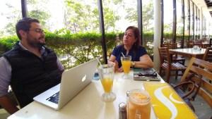 Conversando con María Teresa Jerez
