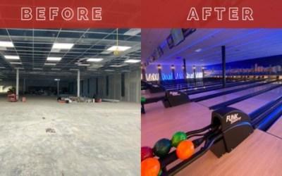 Brand New Bowling Alley Instalation Funk Bowling 1