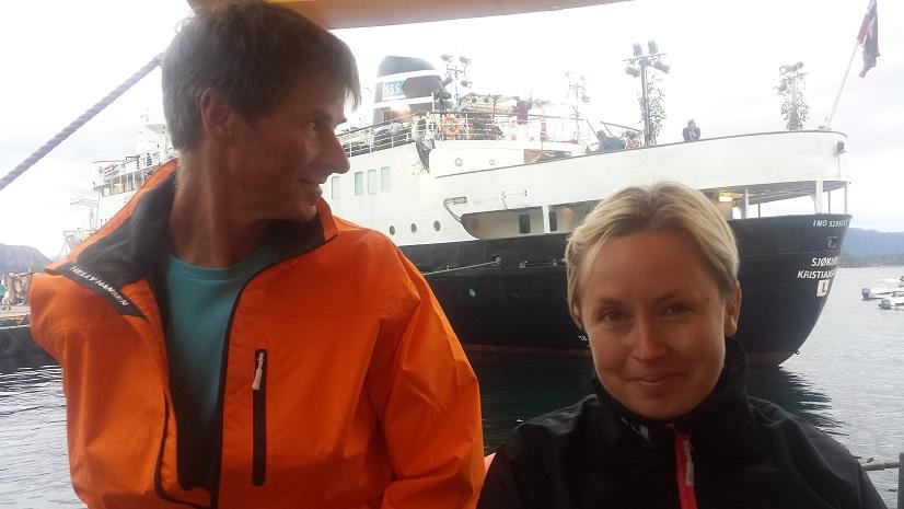 Første etappe SunnMat seilasen Finnøy – Sand