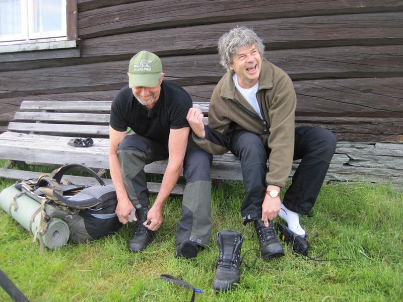 Rondane 2012 – Dag 1, Høvringen