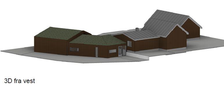 Ny fasade vest