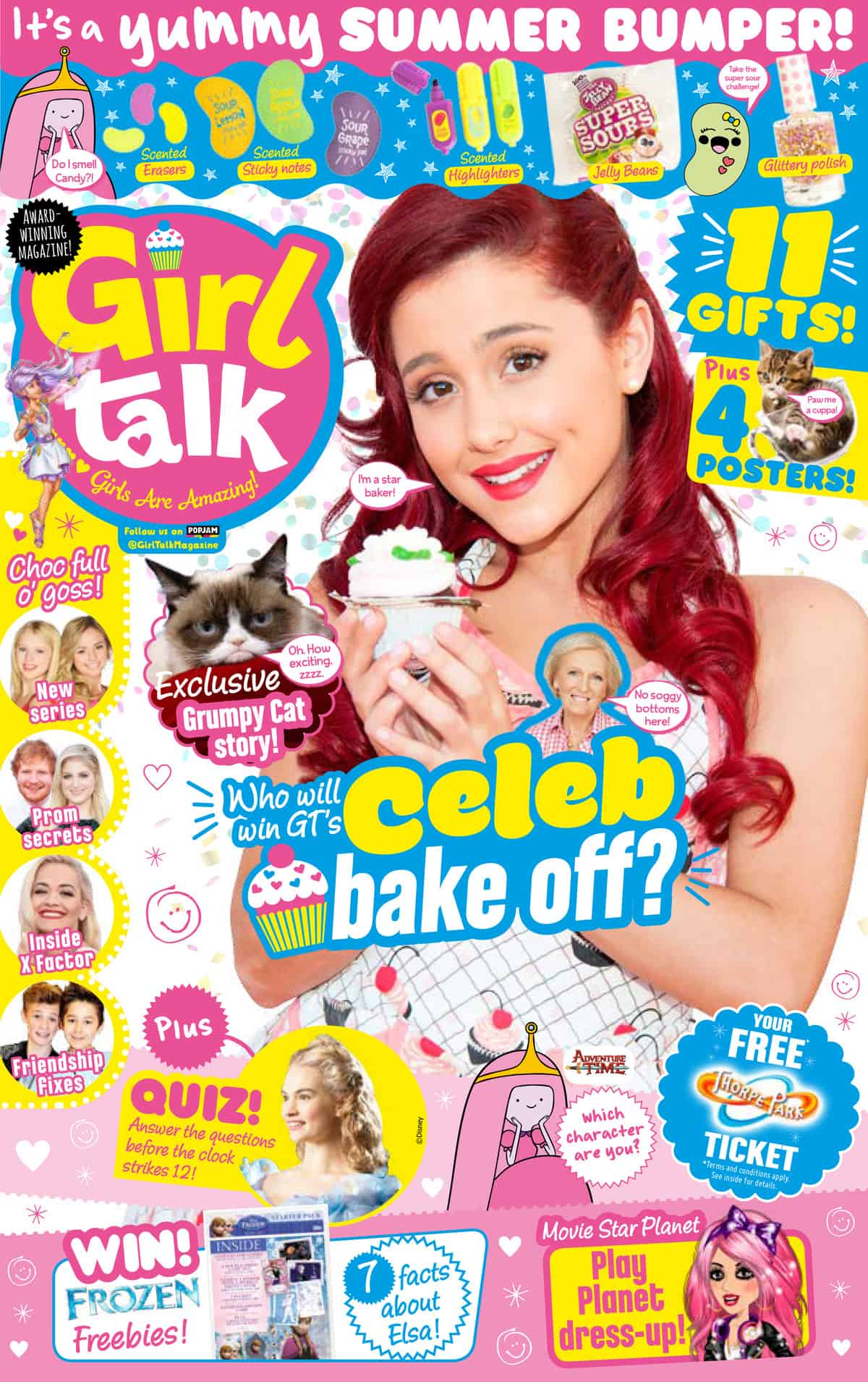 Check Out The Latest Issue Of Girl Talk Magazine Fun