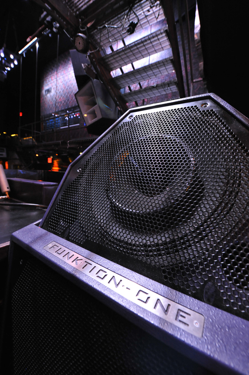 FunktionOne  Products  PSM318 DJ Monitor