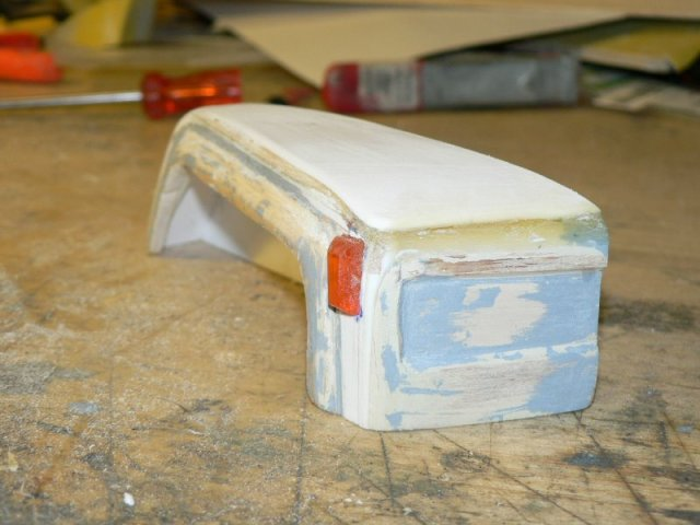 logisch: Blinkerglas aus einem Schraubenzieher