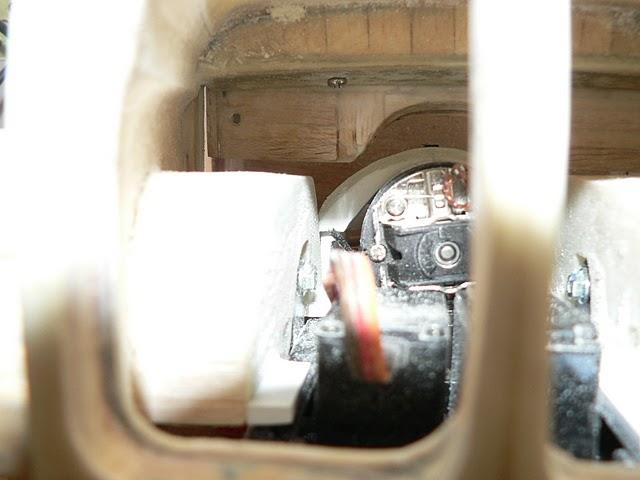 """Blick in den """"Motorenraum"""""""