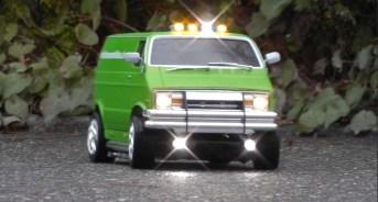 Dodge Van auf Tamiya Basis