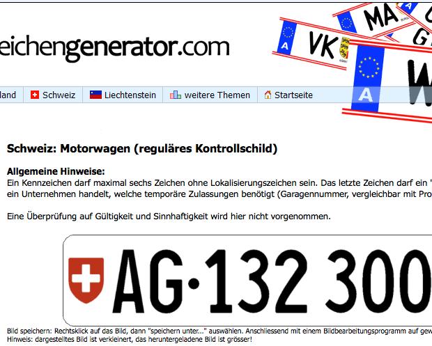 kennzeichengenerator