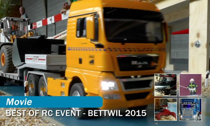 RC Truck Event Bettwil 2015