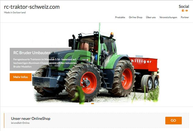 rc traktor mit neuem rc traktoren online. Black Bedroom Furniture Sets. Home Design Ideas