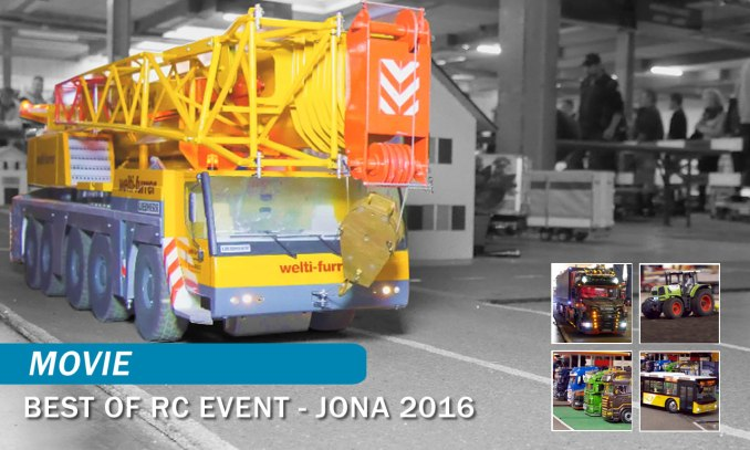 RC-Modelltrucks - RC Event, Jona 2016