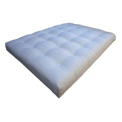 Single Pine Futon Sofa Bed With Mattress Ambient Lounge Bean Bag Latex Core