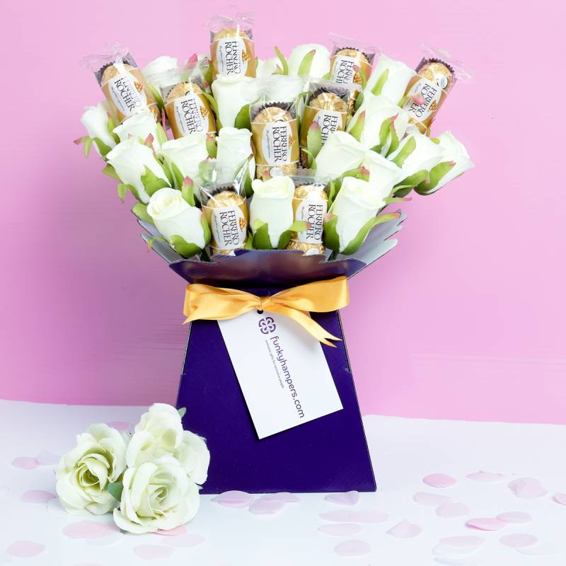 Ferrero Rocher Chocolate Bouquet Funky Hampers